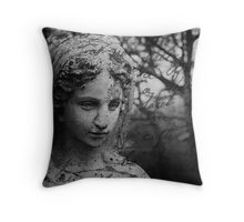Weeping Angel Throw pillow and Tote Bags Throw Pillow