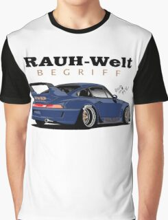 RWB (blue ocean) Graphic T-Shirt