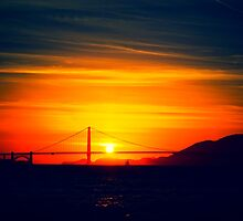 San Francisco Sunset by Gingerhead