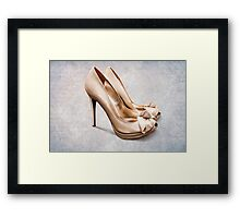 All you need are shoes Framed Print