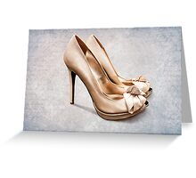 All you need are shoes Greeting Card