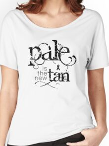 Pale is the New Tan Women's Relaxed Fit T-Shirt