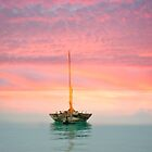 Boat in Sunset by julie08