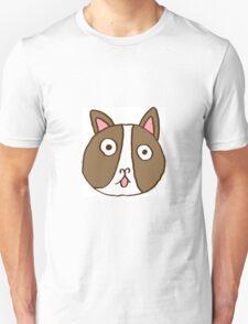 Surprised Frenchie Unisex T-Shirt