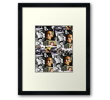BILLY FURY through the ages Framed Print