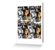 BILLY FURY through the ages Greeting Card