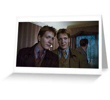 Fred & George Greeting Card