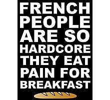 Pain For Breakfast Photographic Print
