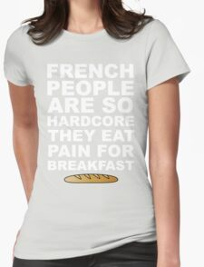 Pain For Breakfast Womens Fitted T-Shirt