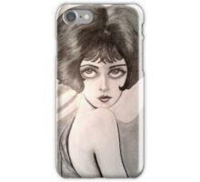 Clara Bow Caricature iPhone Case/Skin