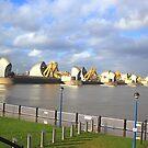 Thames Barrier - London savior  by Arvind Singh