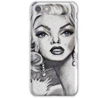 Marilyn Monroe caricature iPhone Case/Skin