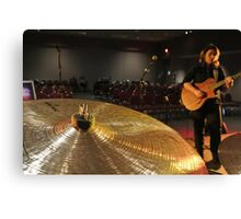 Guitar Cymbal  Canvas Print