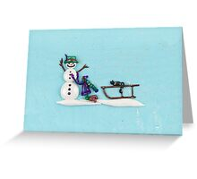 Snow Day! Greeting Card
