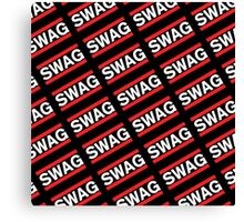SWAG Pattern - Run Dmc Style Canvas Print