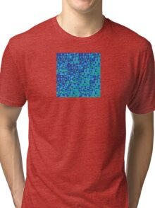 Abstract Water Tri-blend T-Shirt