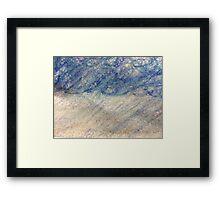 Rain Storm in Oil Pastels Framed Print