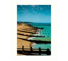 Bognor Regis Seaside  Art Print