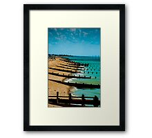 Bognor Regis Seaside  Framed Print