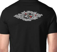 Roses, Bible, Biblical, Book, Religion, Belief, Goth, Gothic, Vampire, Tattoo Unisex T-Shirt