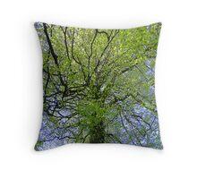 Spooky Tree Throw Cushion Throw Pillow