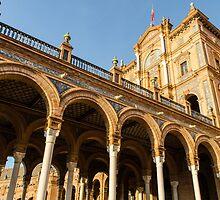 Plaza de Espana - The stunning architecture by Andrea Mazzocchetti