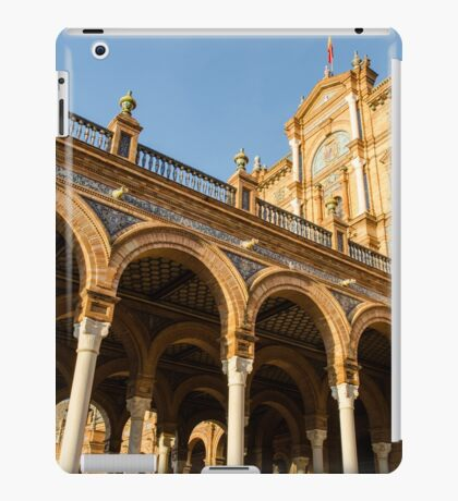Plaza de Espana - The stunning architecture iPad Case/Skin