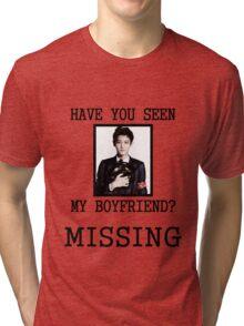 EXO Chanyeol - Have You Seen My Boyfriend Tri-blend T-Shirt