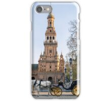 Seville - A view of Plaza de Espana  iPhone Case/Skin