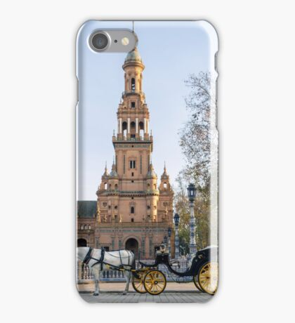 Seville - A view of Plaza de Espana  iPhone Case/Skin