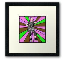 Bonnie 'n' COLLIDE Framed Print