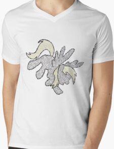 Bubbly Derpy Mens V-Neck T-Shirt