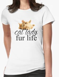 Fur Life Womens Fitted T-Shirt