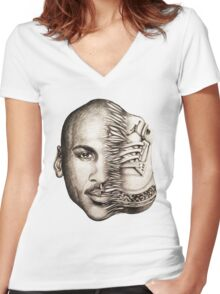 88's Women's Fitted V-Neck T-Shirt