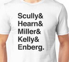 Famous Los Angeles Sports Broadcasters - Light Version Unisex T-Shirt
