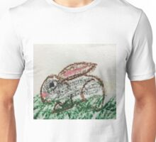 Little Bunny in Oil Pastels Unisex T-Shirt