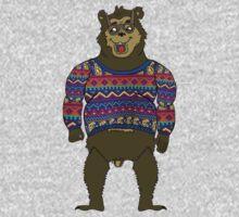 Bad Knit Bear Baby Tee
