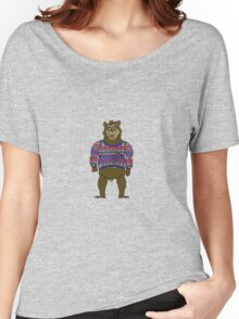 Bad Knit Bear Women's Relaxed Fit T-Shirt