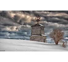 Winter's Storms Embrace Photographic Print