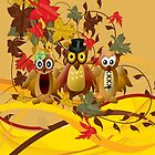 3 owls by harietteh