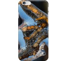 Toronto Ice Storm 2013 - Encapsulated in Blue Ice iPhone Case/Skin
