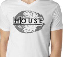 House M.D. Brain Anatomy Mens V-Neck T-Shirt