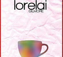 Gilmore Girls minimalist poster, Lorelai Gilmore by hannahnicole420