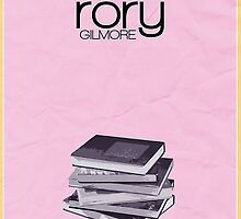 Gilmore Girls minimalist poster, Rory Gilmore by hannahnicole420