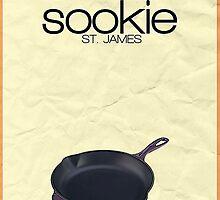 Gilmore Girls minimalist poster, Sookie St. James by hannahnicole420