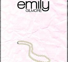 Gilmore Girls minimalist poster, Emily Gilmore by hannahnicole420