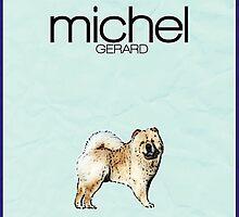 Gilmore Girls minimalist poster, Michel Gerard by hannahnicole420