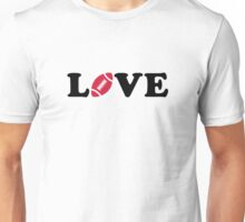 Football love Unisex T-Shirt