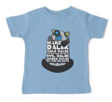 Hard Dalek Cold Dalek New Design (Grey/Blue) Baby Tee
