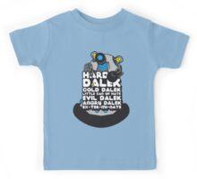 Hard Dalek Cold Dalek New Design (Grey/Blue) Kids Tee